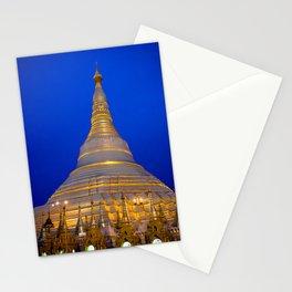 Shwedagon Pagoda, Yangoon Myanmar Stationery Cards