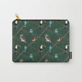 Crossed Branches Carry-All Pouch