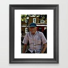 Old Man Mike Framed Art Print