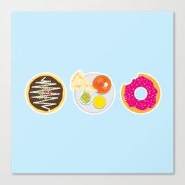 3 Food Staples Canvas Print
