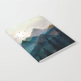Mountain Sunrise II Notebook