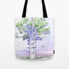 La Citta' albero... Tote Bag