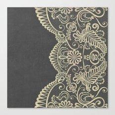 Stone & Lace Canvas Print