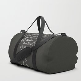 You are blessed to be given another chance to live Duffle Bag