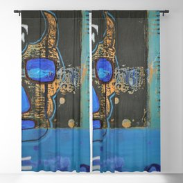 Soul searching Blackout Curtain