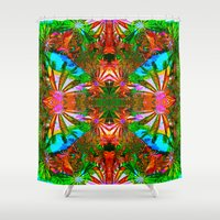 aloha Shower Curtains featuring Aloha by Glanoramay