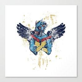 Fallen Hero Eagle Canvas Print