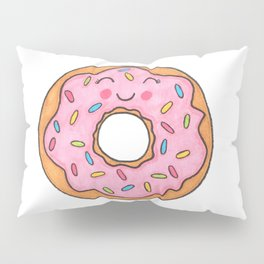 I Love You More Than Donuts Pillow Sham