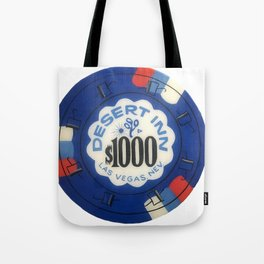 Desert Inn - Casino Chip Series Tote Bag
