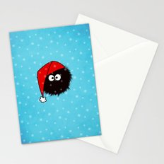 Cute Dazzled Bug Christmas Stationery Cards