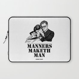Kingsman Harry Hart: Manners Maketh Man Laptop Sleeve