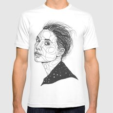 Lykke Li MEDIUM Mens Fitted Tee White