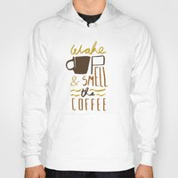 coffee Hoodies featuring Coffee by David