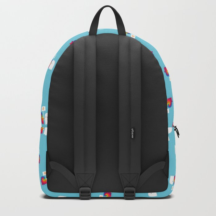 Hippie ghost Backpack