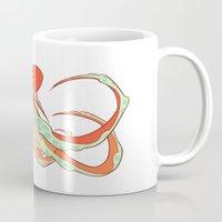 octopus Mugs featuring Octopus by Jemma Salume