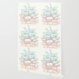 Rainbow Pine Cone Wallpaper