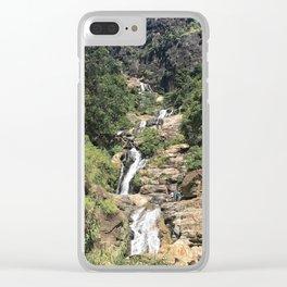 Ravana Falls Clear iPhone Case