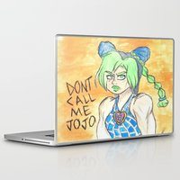 jojo Laptop & iPad Skins featuring don't call her jojo by sommer bommer