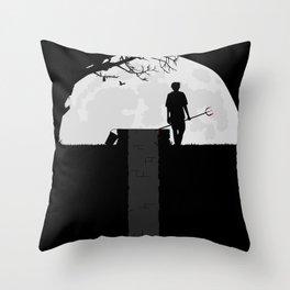Dumped Throw Pillow