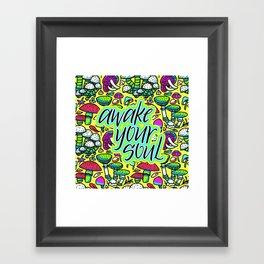 Zeta - Awake your soul Framed Art Print