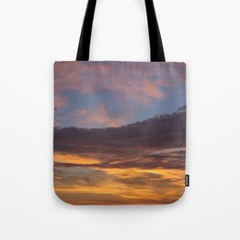 Sky on Fire. Tote Bag