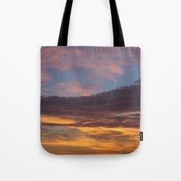 Sky on Fire. Tote Bag