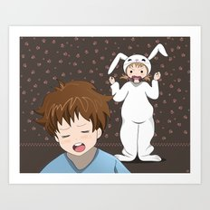 My precious sister Art Print