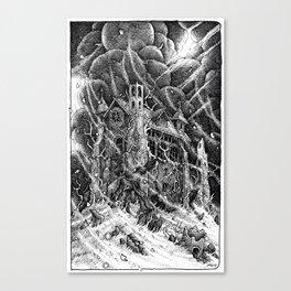 A Cloud Upon the Sanctuary Canvas Print