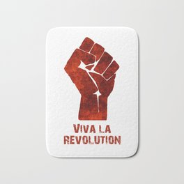Viva La Revolution Bath Mat