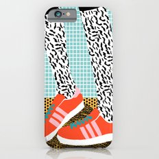 Spiffy - shoes art print memphis design style modern colorful california socal los angeles brooklyn  Slim Case iPhone 6s