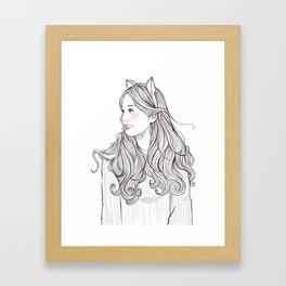 sweet babe *GirlsCollection* Framed Art Print