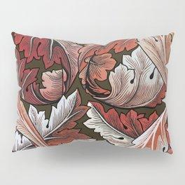 Art Nouveau William Morris Autumn Acanthus Leaves Pillow Sham