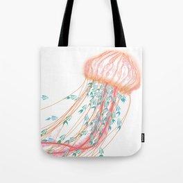 Robot Jellyfish Tote Bag