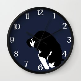 Nighttime Wall Clock