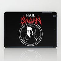 sagan iPad Cases featuring HAIL SAGAN by Normal-Sized Deet