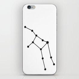 Virgo Astrology Star Sign Minimal iPhone Skin
