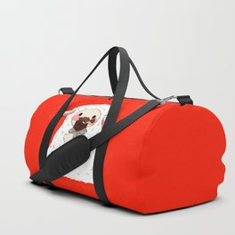 Chocolate Lamb Duffle Bag