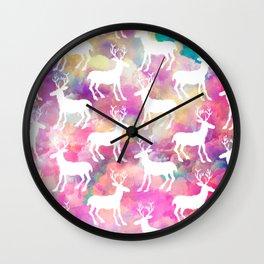 So Deerly Wall Clock