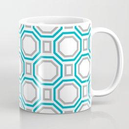 Blue Harmony II Symmetry Coffee Mug