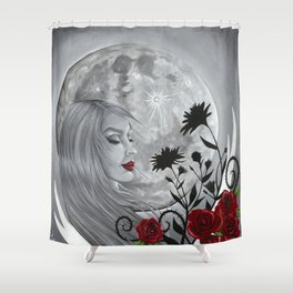 Light Side Of The Moon Shower Curtain