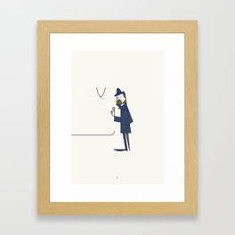 I'm lost in your immensity Framed Art Print