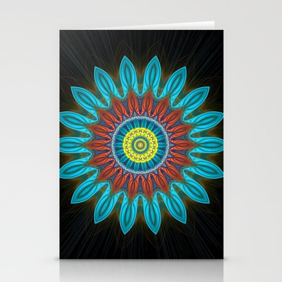Flower of life. Stationery Cards