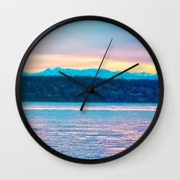 Dusk for Porter Wall Clock