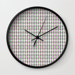Peace for all (Colours) Wall Clock