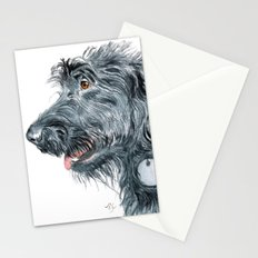 Black Labradoodle Stationery Cards