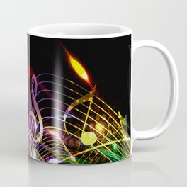 Music Notes in Color Coffee Mug