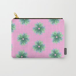 Geo Spring Flowers 03 Carry-All Pouch