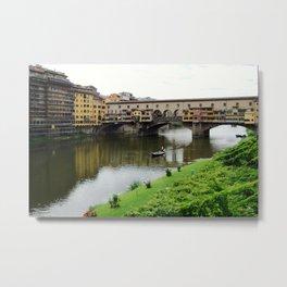 ponte vecchio, florence, italy Metal Print