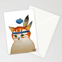 LITTLE QUIET CLOUD by Raphaël Vavasseur Stationery Cards