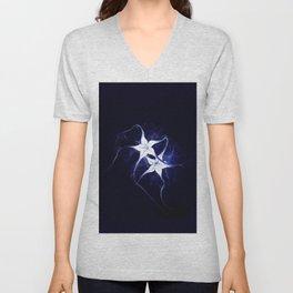 Moonflower Unisex V-Neck